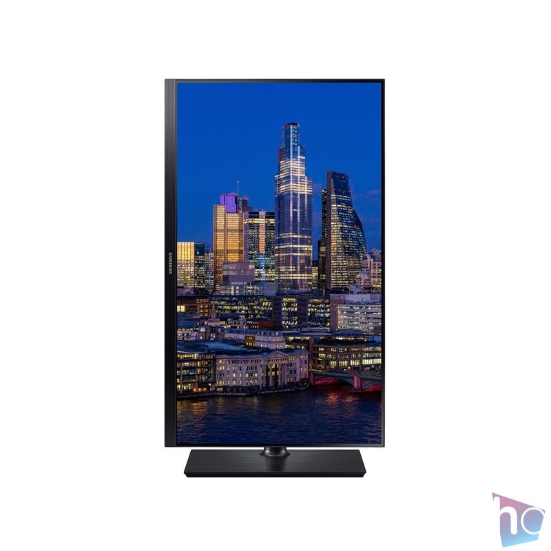 "Samsung 27"" F27T850QWR LED PLS HDMI fekete monitor"