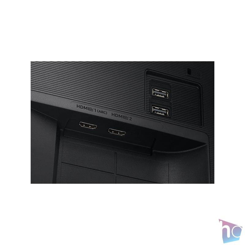 """Samsung 27"""" S27AM500NR LED HDMI HDR10 SMART monitor távirányítóval"""
