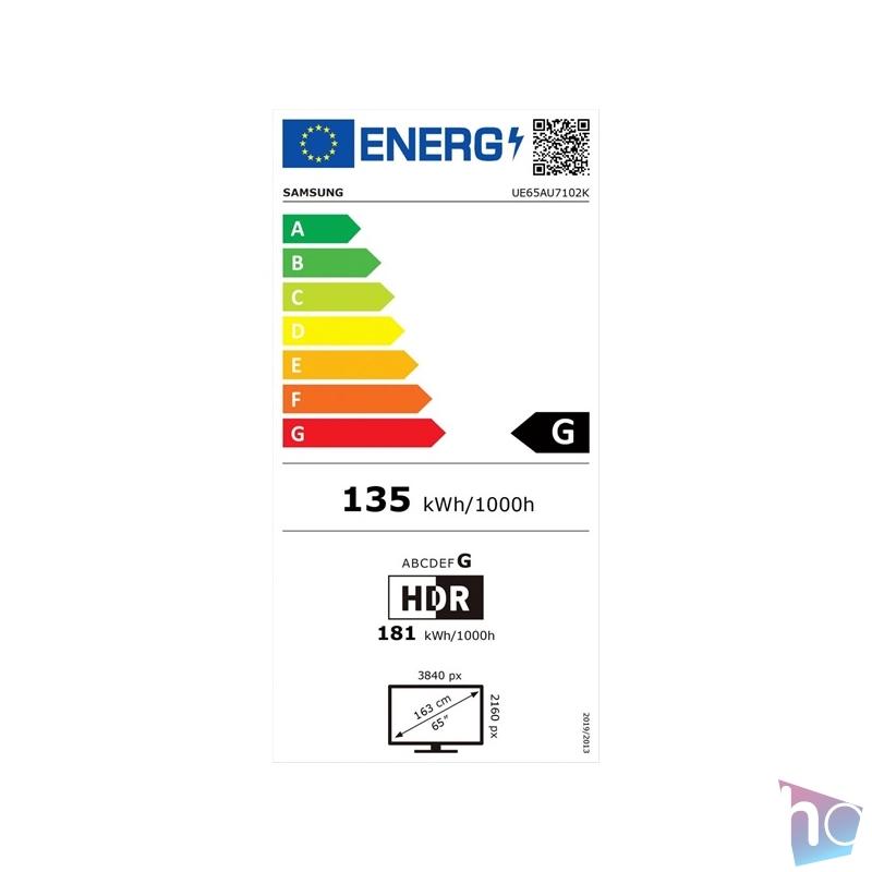 "Samsung 65"" UE65AU7102KXXH 4K UHD Smart LED TV"