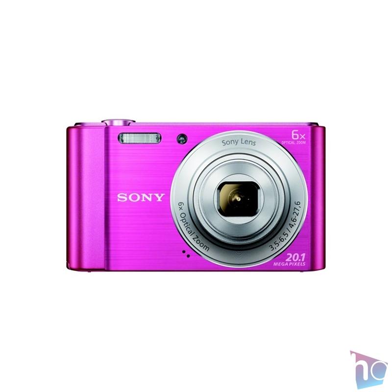 Sony DSC-W810P rózsaszín digitális fényképezőgép