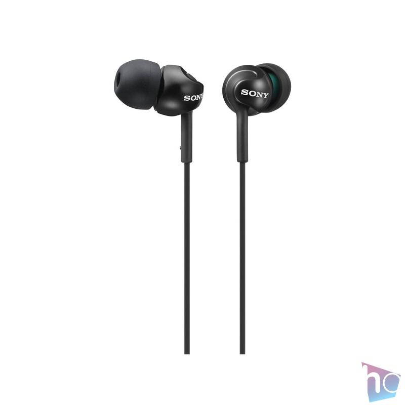 Sony MDREX110LPB.AE fekete fülhallgató