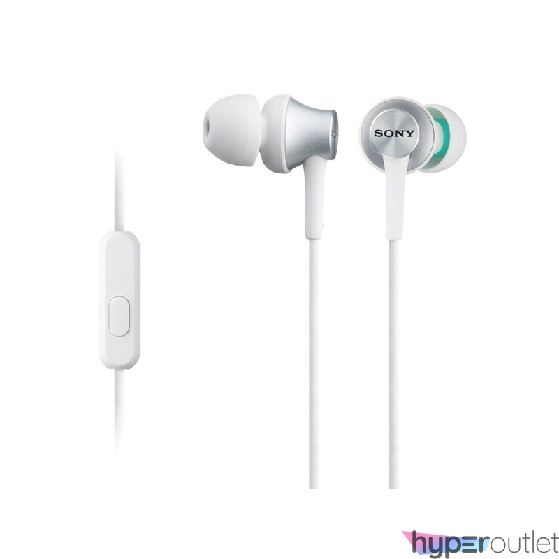 Sony MDREX450APW.CE7 fehér mikrofonos fülhallgató