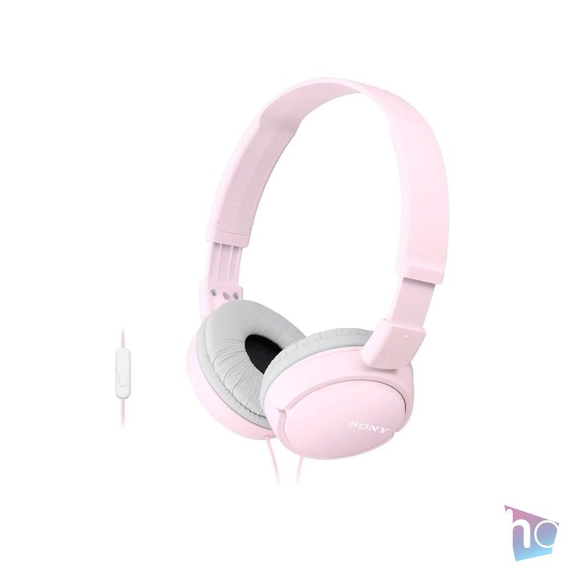 Sony MDRZX110APP.CE7 rózsaszín mikrofonos fejhallgató