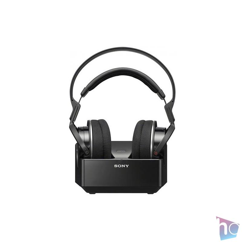 Sony MDRRF855RK.EU8  vezeték nélküli fekete fejhallgató