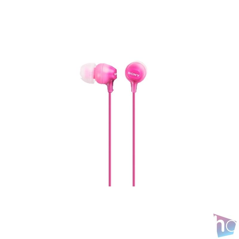 Sony MDREX15LPPI.AE rózsaszín fülhallgató