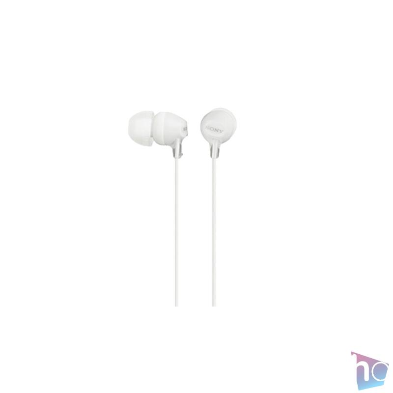 Sony MDREX15LPW.AE fehér fülhallgató