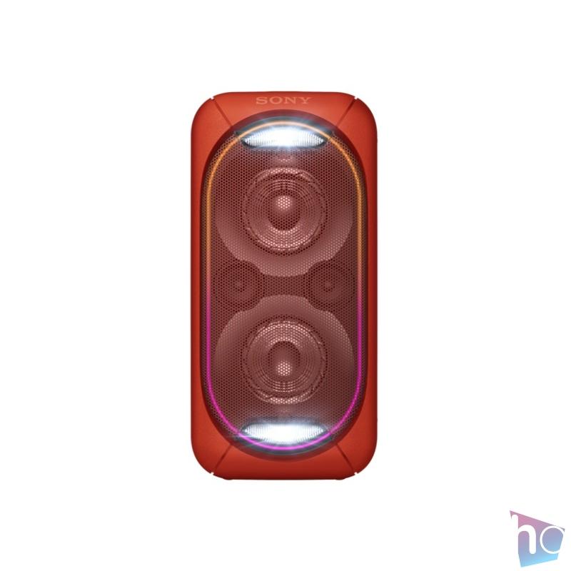 Sony GTKXB60R Bluetooth piros hangszóró
