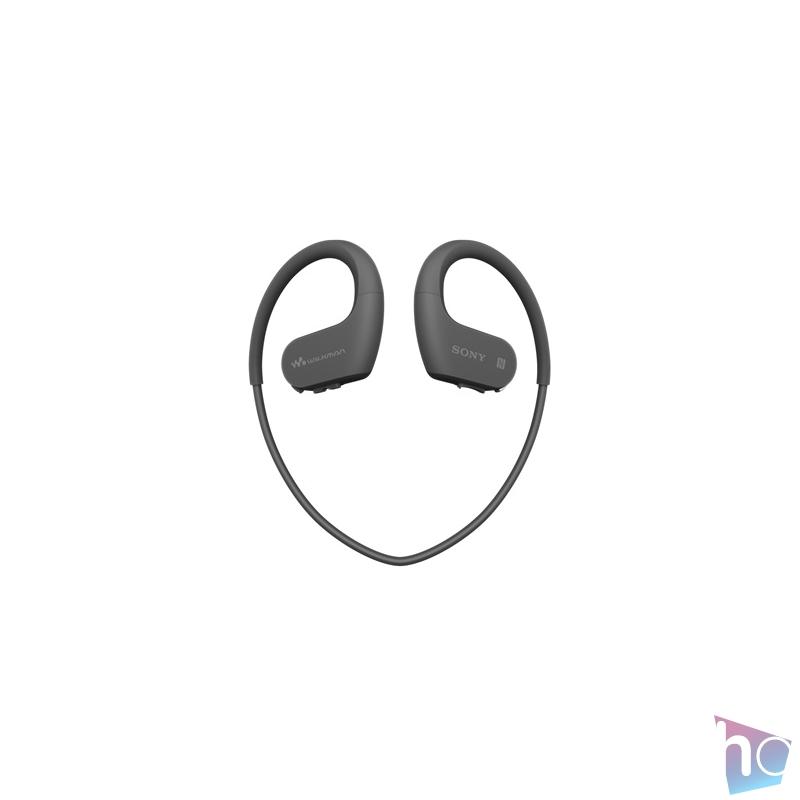 Sony NWWS623B Bluetooth fekete sport fülhallgató headset és 4GB MP3 lejátszó