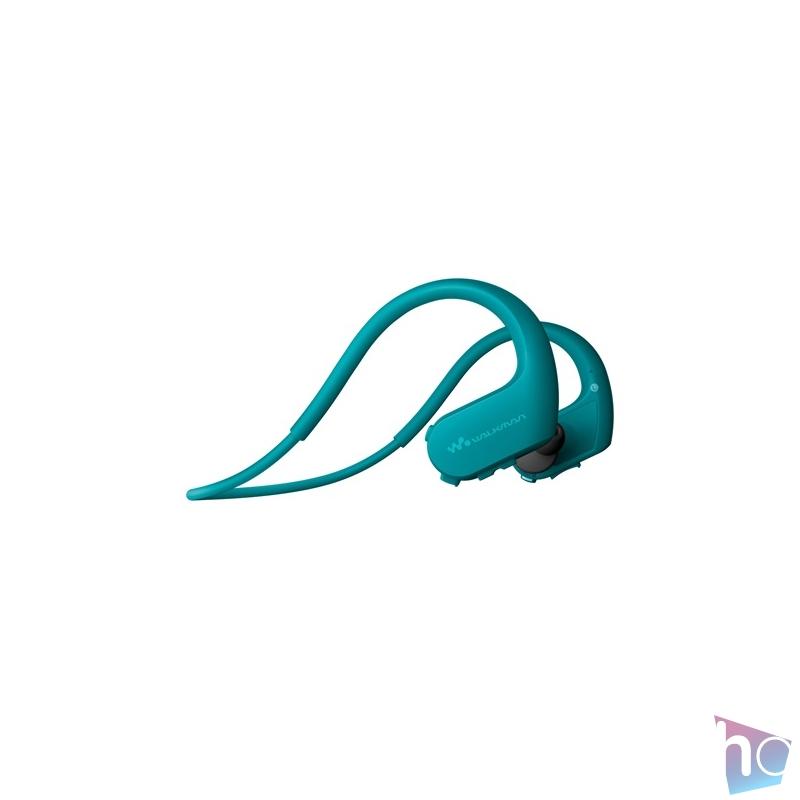 Sony NWWS623L Bluetooth kék sport fülhallgató headset és 4GB MP3 lejátszó