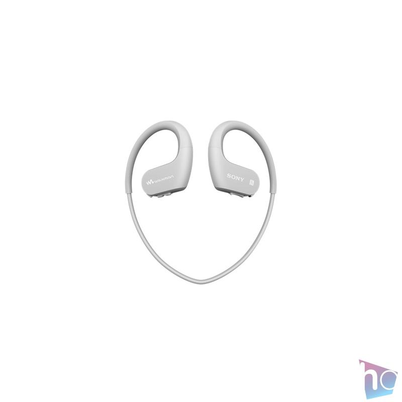 Sony NWWS623W Bluetooth fehér sport fülhallgató headset és 4GB MP3 lejátszó