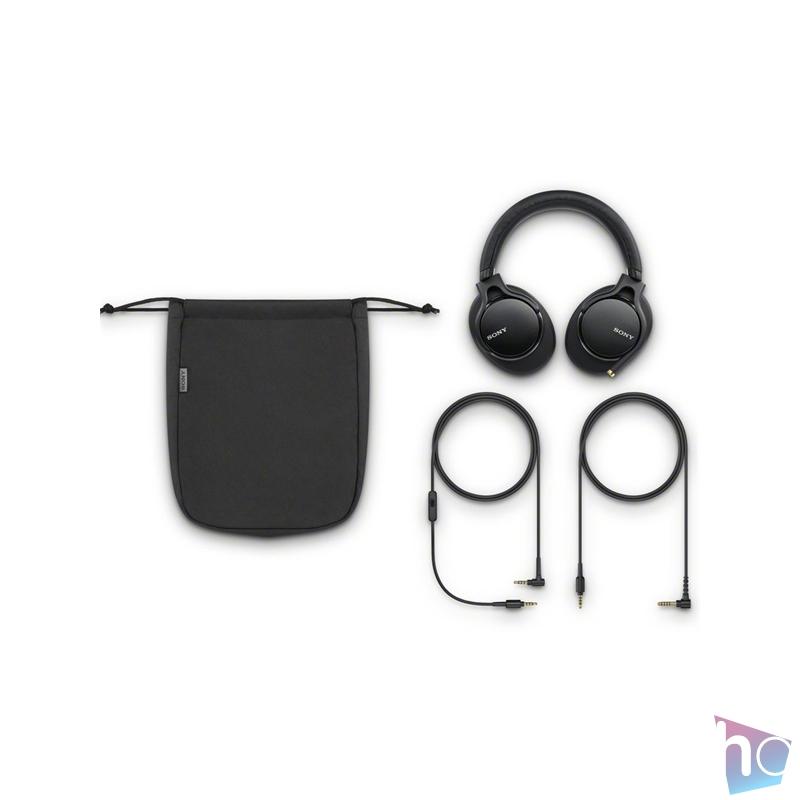 Sony MDR1AM2B vezetékes Hi-Res audio fekete fejhallgató