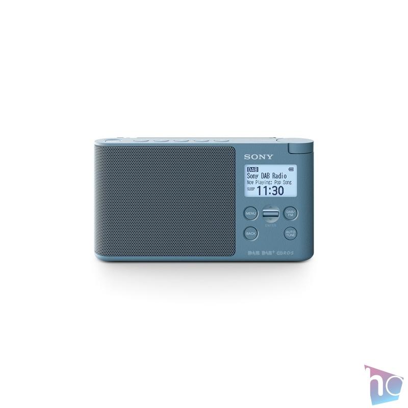 Sony XDRS41DL hálózati töltős kék FM rádió