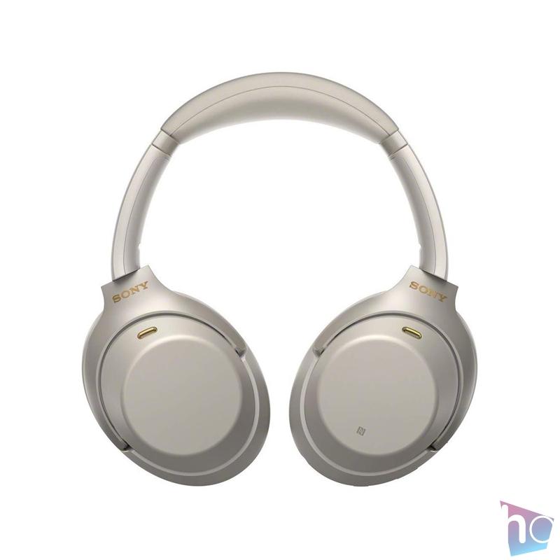 Sony WH1000X M3 Hi-Res Bluetooth/aptX ezüst mikrofonos fejhallgató