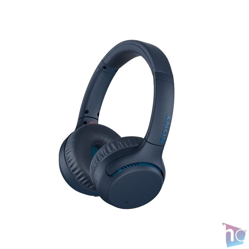 Sony WHXB700L Bluetooth kék fejhallgató headset