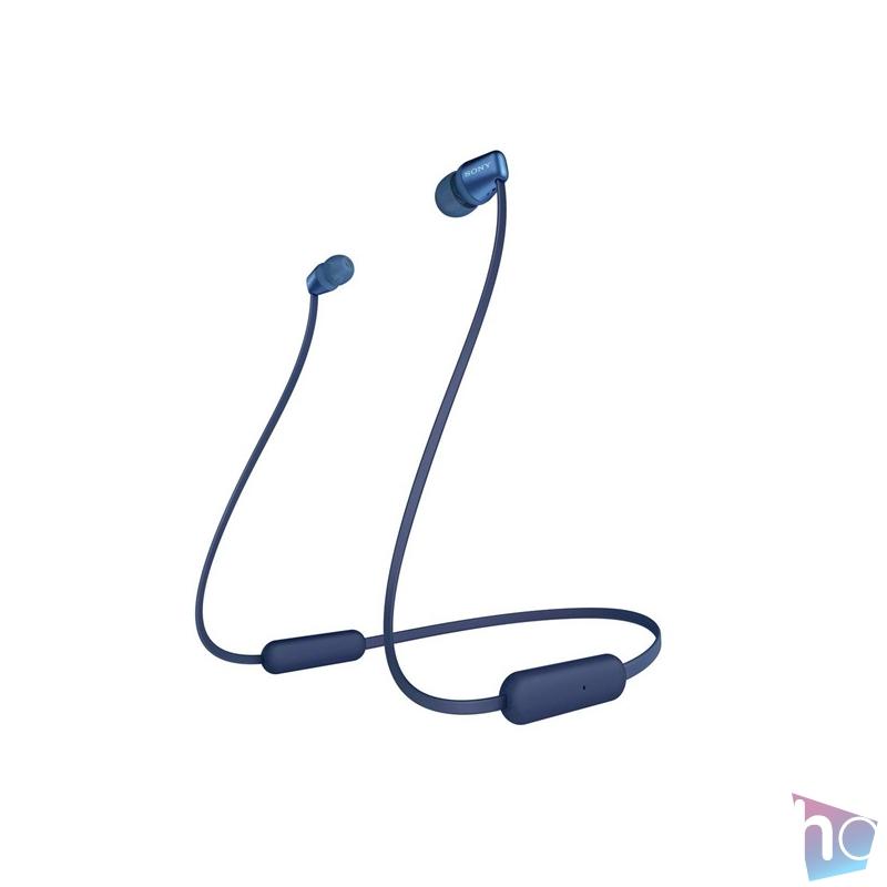 Sony WIC310L Bluetooth kék fülhallgató headset