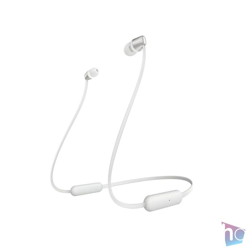 Sony WIC310W Bluetooth fehér fülhallgató headset