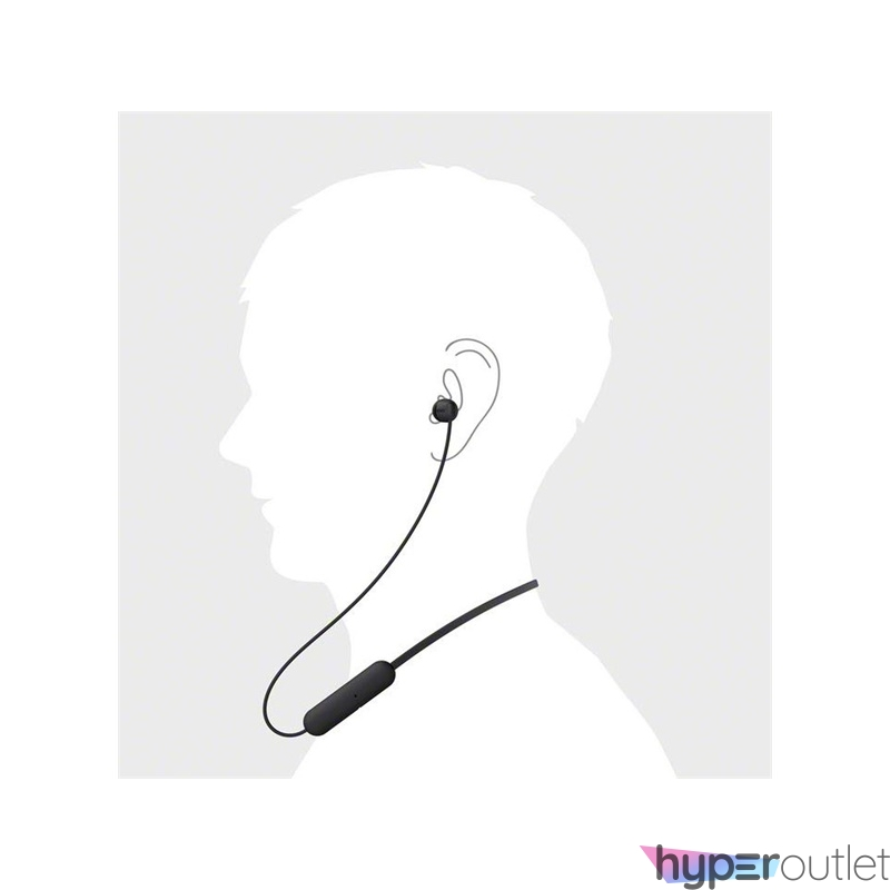 Sony WIC200B Bluetooth fekete fülhallgató headset