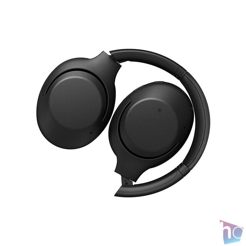 Sony WHXB900NB Bluetooth zajcsökkentős fekete mikrofonos fejhallgató