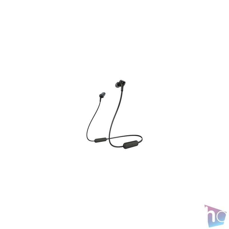 Sony WIXB400B Bluetooth fekete fülhallgató headset