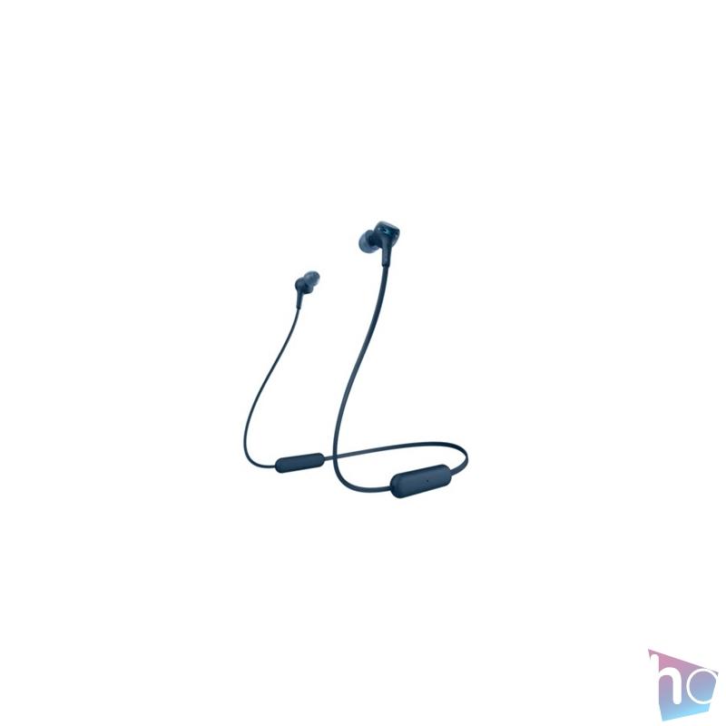 Sony WIXB400L Bluetooth kék fülhallgató headset