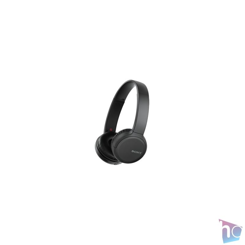 Sony WHCH510B Bluetooth fekete mikrofonos fejhallgató