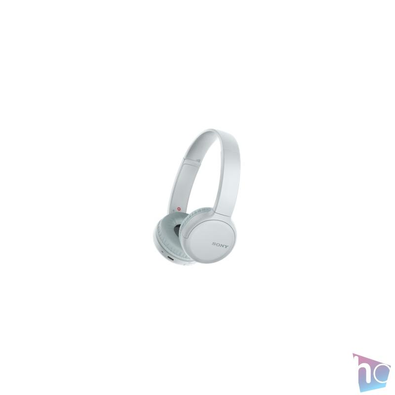 Sony WHCH510W Bluetooth fehér mikrofonos fejhallgató