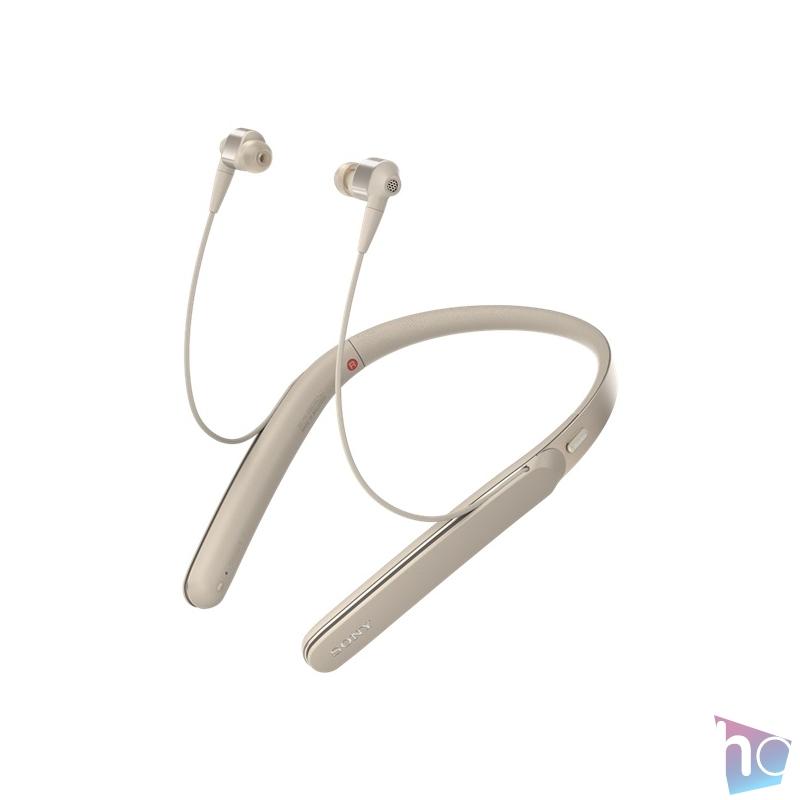 Sony WI1000XM2B Bluetooth zajszűrős ezüst nyakpántos fülhallgató