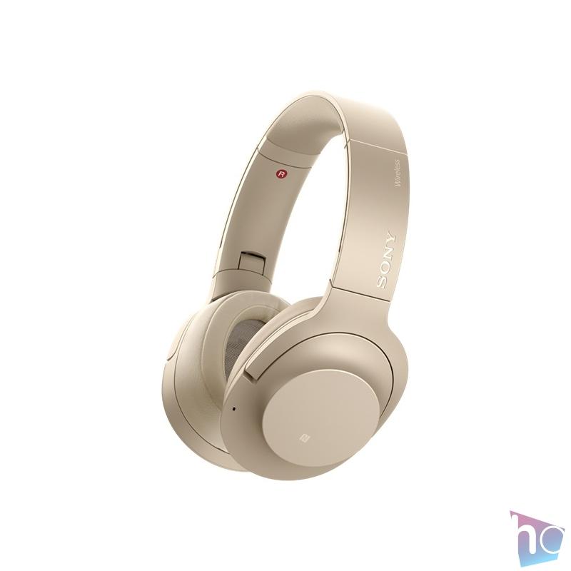 Sony WHH910ND h.ear on 3 Bluetooth zajszűrős narancs fejhallgató