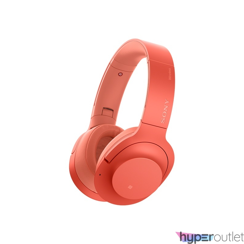 Sony WHH910NR h.ear on 3 Bluetooth zajszűrős piros fejhallgató