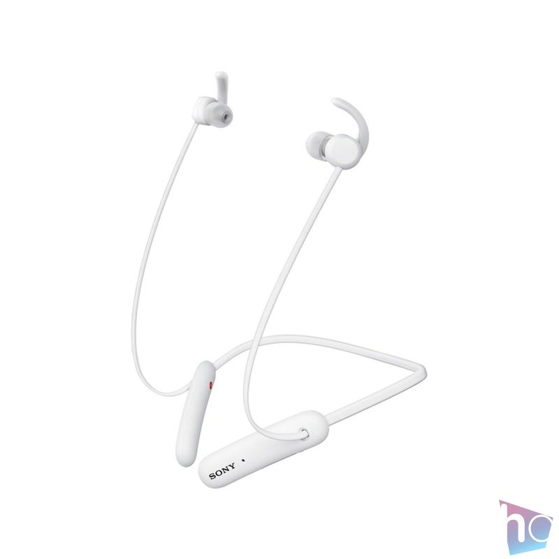 Sony WISP510W Bluetooth fehér sport fülhallgató headset
