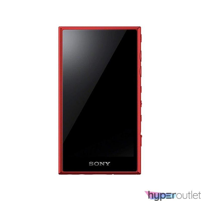 Sony NWA105R 16GB Hi-Res Bluetooth piros hordozható audio zenelejátszó