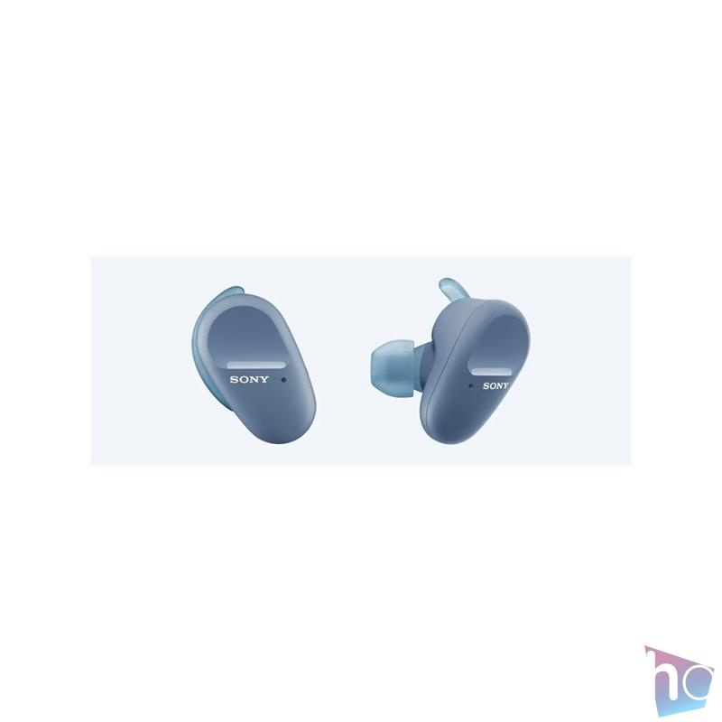 Sony WFSP800NL True Wireless Bluetooth zajcsökkentős kék sport fülhallgató