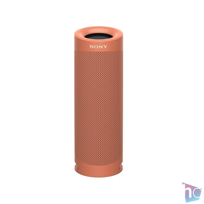 Sony SRS-XB23 piros hordozható Bluetooth hangszóró