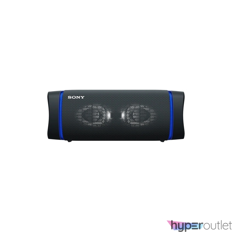 Sony SRS-XB33 fekete hordozható Bluetooth hangszóró