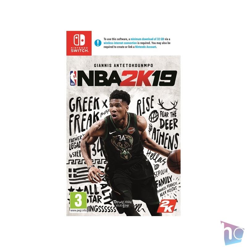 NBA 2K19 Nintendo Switch játékszoftver