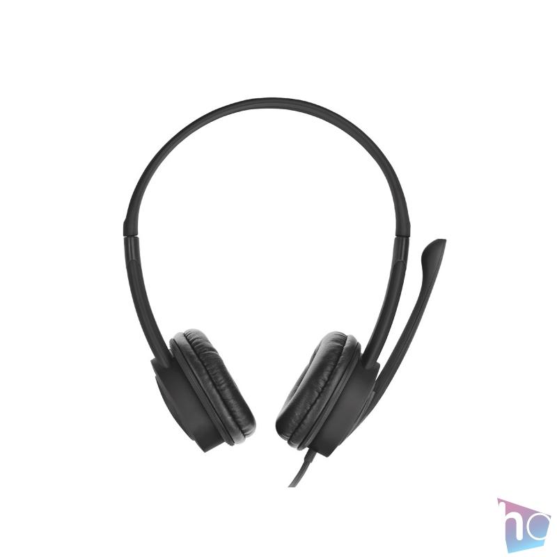 Trust Mauro USB mikrofonos fejhallgató headset