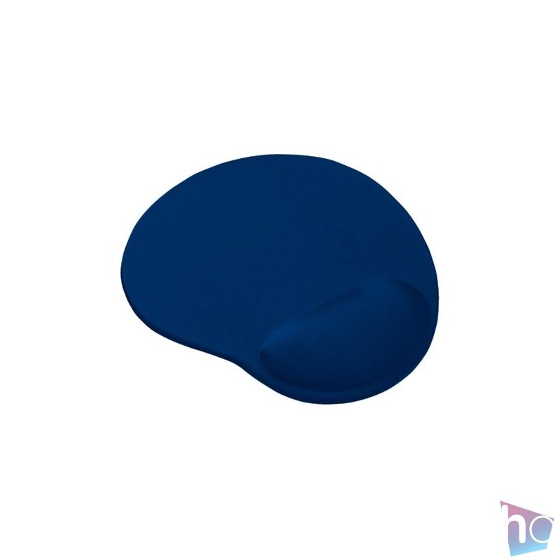 Trust Bigfoot zselés csuklótámaszos kék egérpad