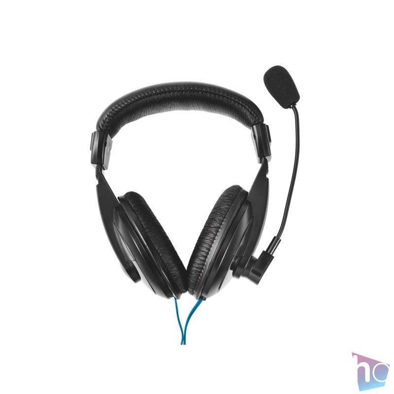 Trust Quasar jack mikrofonos fejhallgató headset