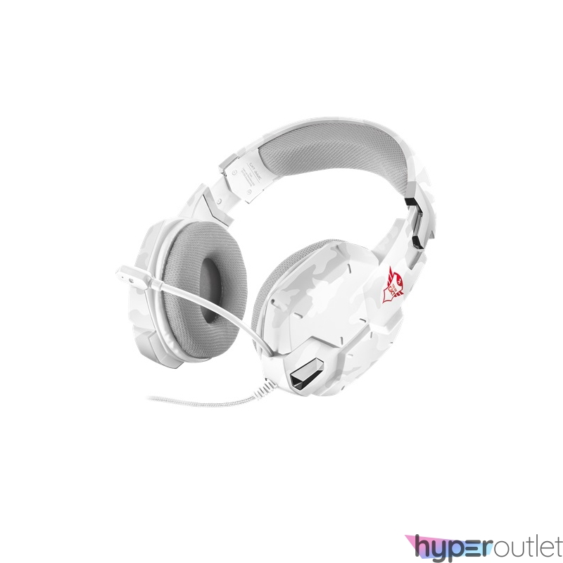 Trust GXT 322W Carus hó álcafestéses gamer fejhallgató headset
