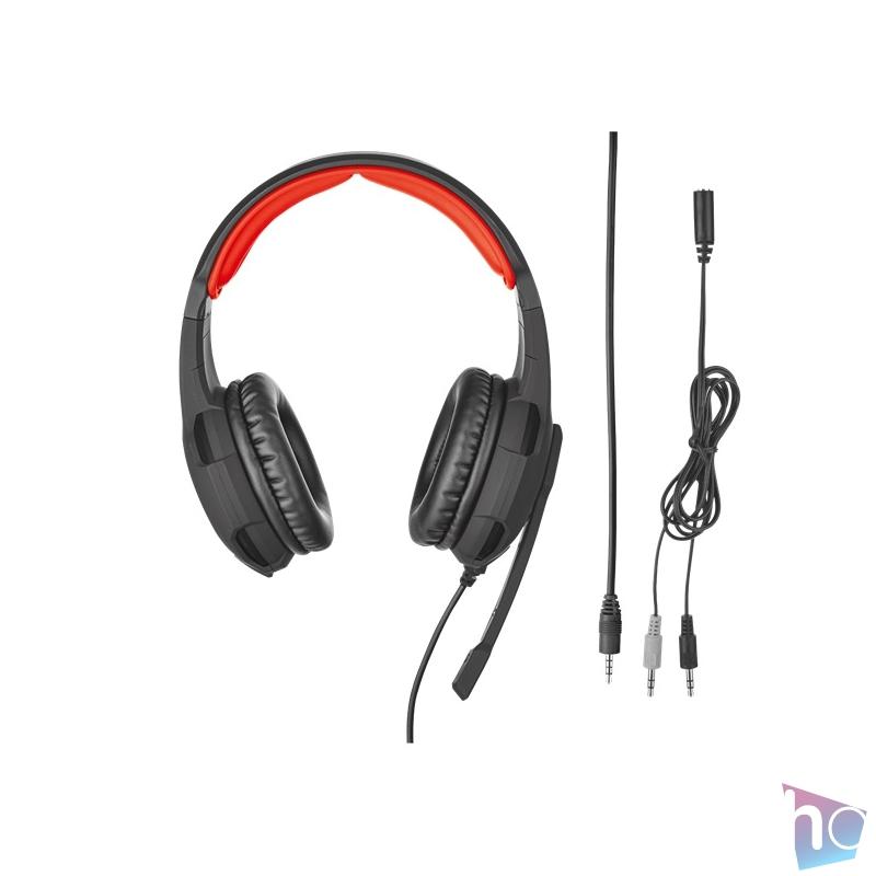 Trust GXT 310 Radius gamer fejhallgató headset