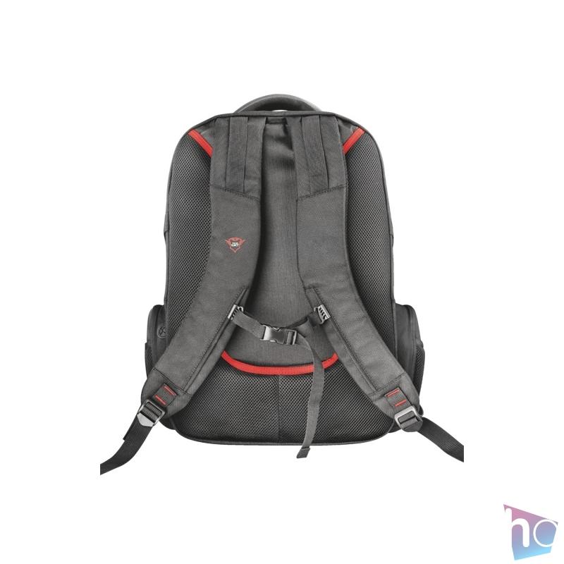 """Trust GXT 1250 Hunter 17,3"""" gamer notebook hátizsák"""