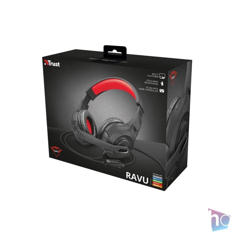 Trust GXT 307 Ravu gamer fejhallgató headset