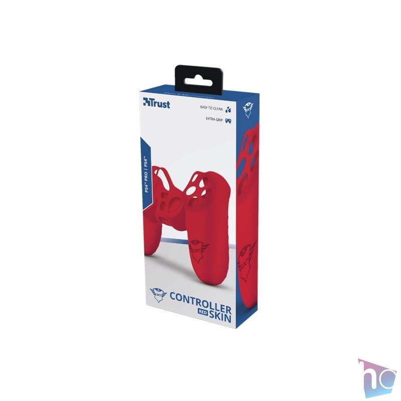 Trust GXT744R Rubber Skin piros PS4 controllerhez
