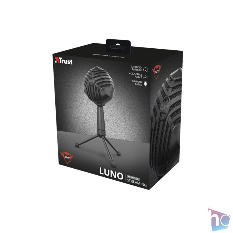 Trust GXT 248 Luno Streaming USB gamer mikrofon