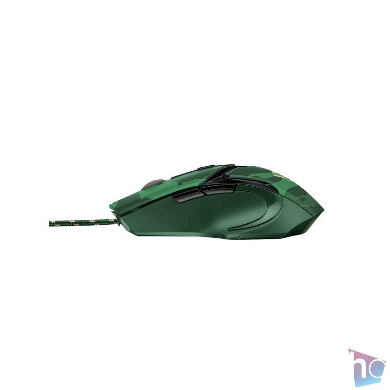 Trust GXT 101C Gav USB jungle camo gamer egér
