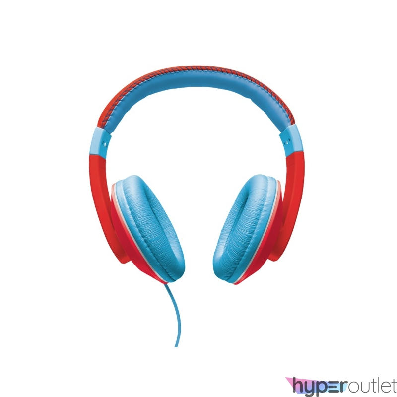 Trust Sonin Kids Jack piros-kék gyerek fejhallgató