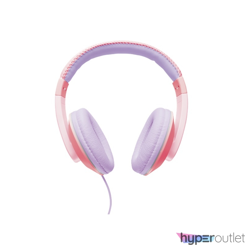 Trust Sonin Kids Jack pink-lila gyerek fejhallgató