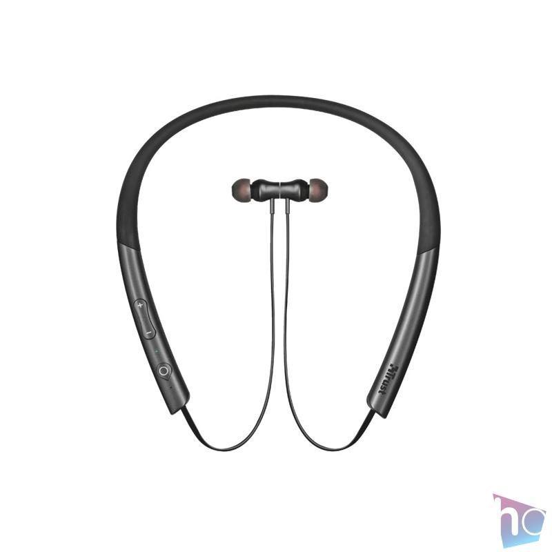 Trust Kolla Neckband-style Bluetooth fekete nyakpántos fülhallgató headset