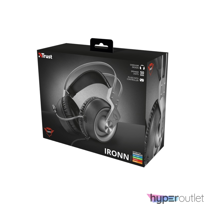 Trust GXT 430 Ironn gamer fejhallgató headset