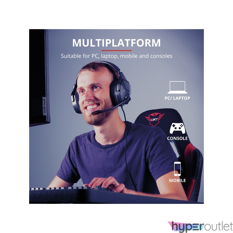 Trust GXT 4371 Ward gamer fejhallgató headset
